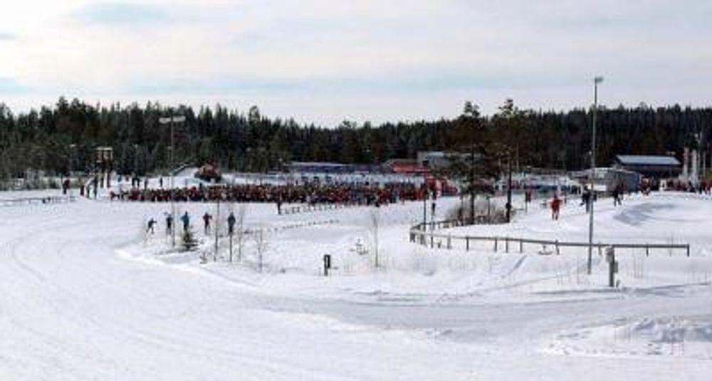 RFID-teknologien er på plass på Birkebeineren skistadio, Lillehammer.