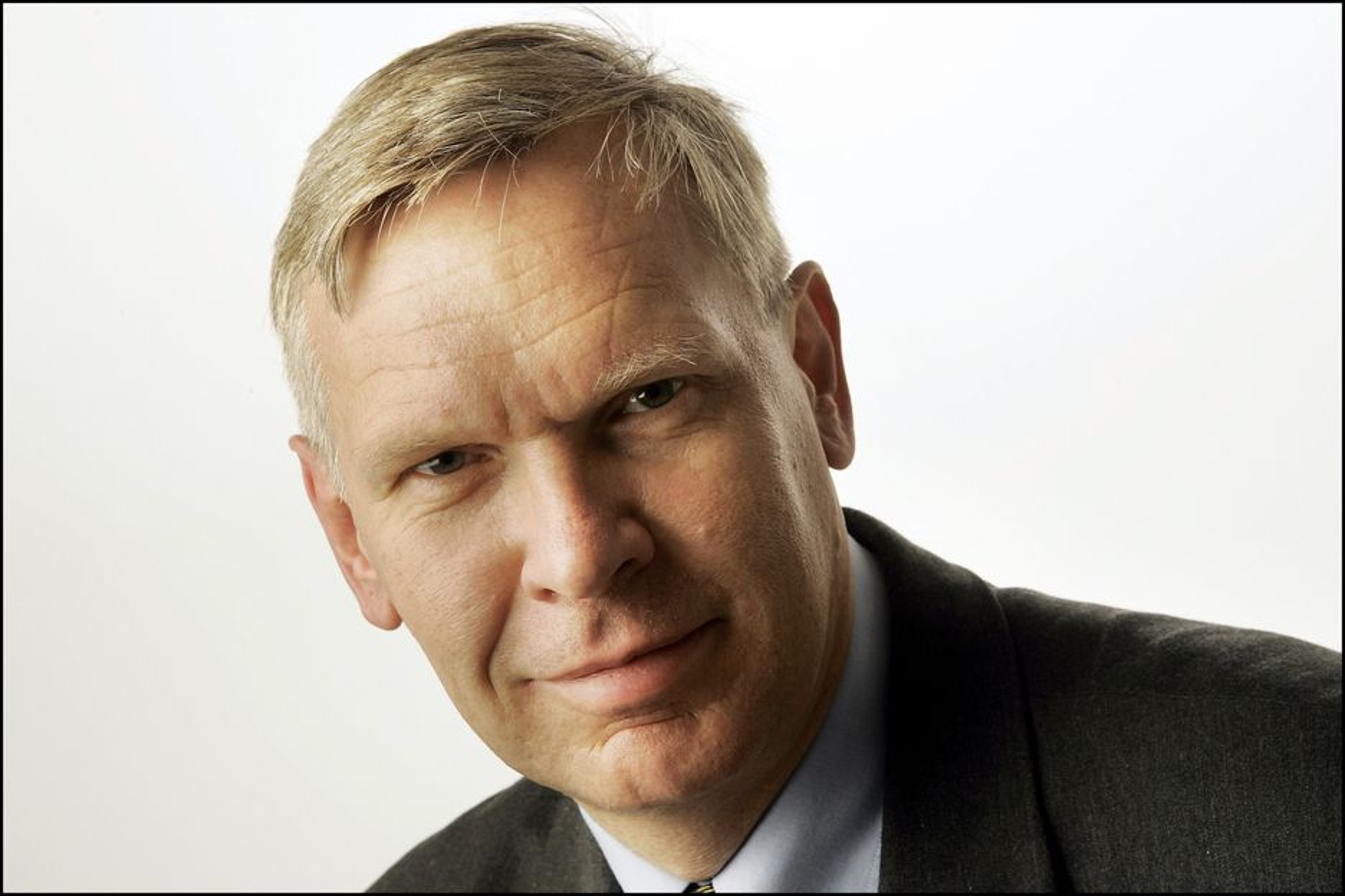 GJØR DET BRA: Jørgen Myrland i Cisco Norge opplever oppgang, men han vil ikke ut med hvor mye den norske virksomheten omsetter for.