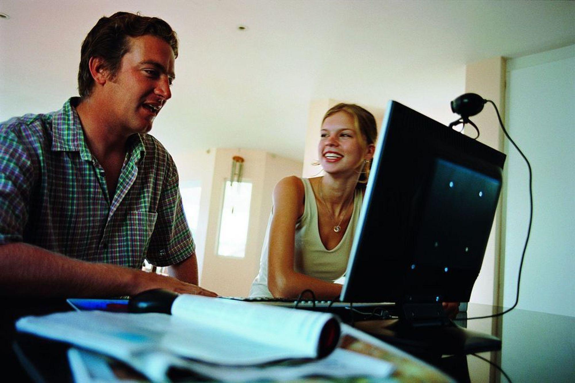 GRÜNDERE MED GLØD: På kurset Pangstart lærer studenter å skrive en forretningsplan best mulig.