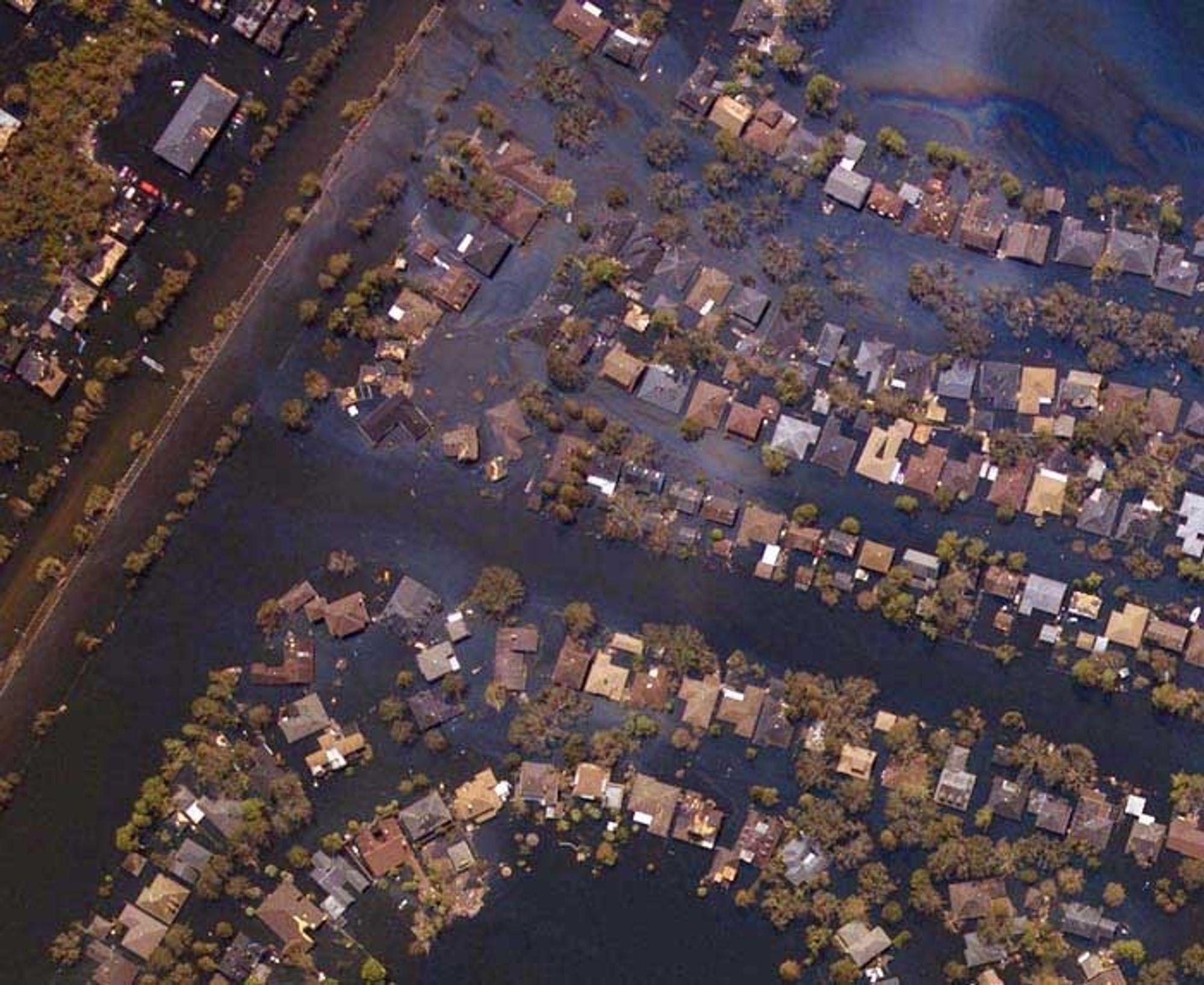 GIFTIG: Tragedien tar ikke slutt for innbyggerne i New Orleans og langs kysten av Louisiana.