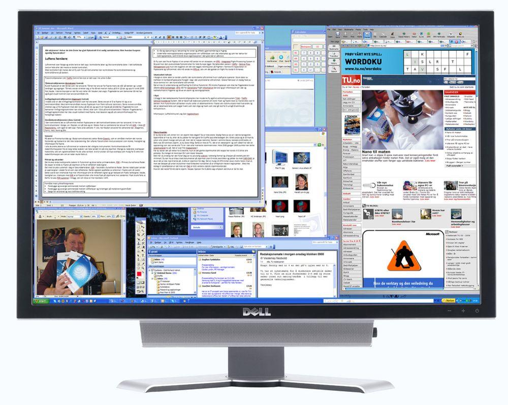 Dells nye 30 tommers dataskjerm har 2560 ganger 1600 punkter. Det er over fire megapiksler og har betegnelsen som du neppe har hørt før; WQXGA.