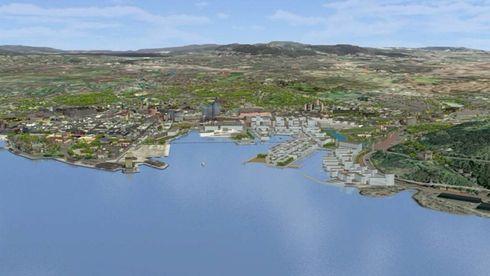 Bjørvika: Senketunnel og veisystem