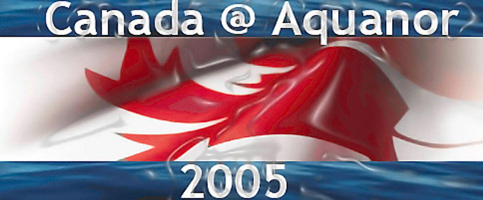 Canada har liaget sin egen logo for kjempesatsingen på Aquanor.