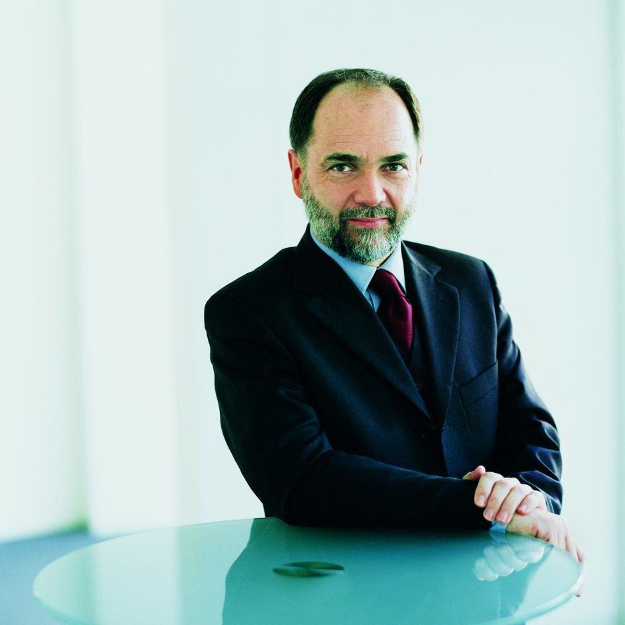 IT-TENKER:Joseph Reger er teknologi og strategidirektør Fujitsu Siemens.