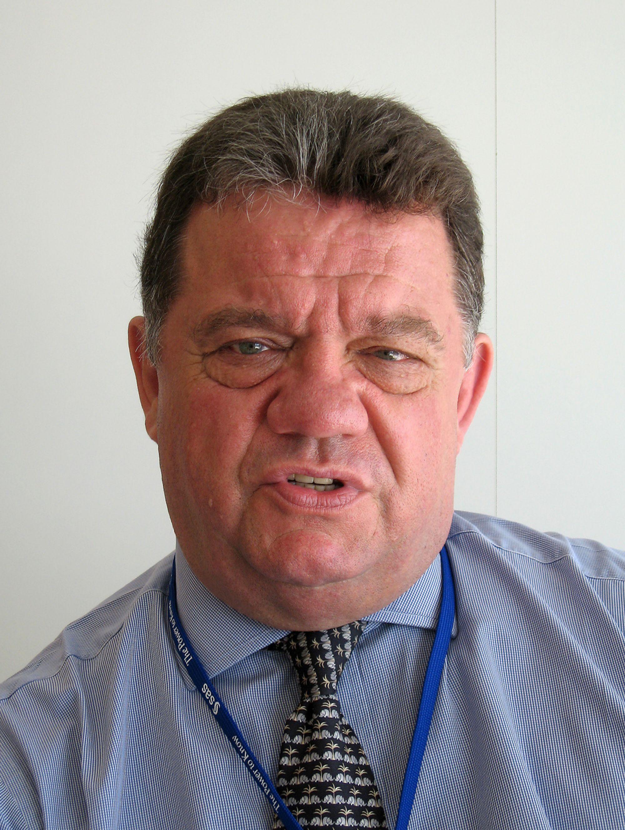 DETEKTIV:Med over ti års bakgrunn i Scotland Yard har Rowan Bosworth-Davies de beste forutsetninger for å jakte på hvitvaskere.