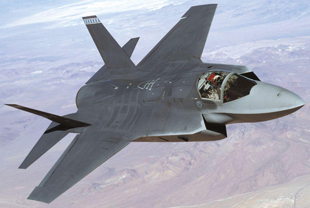 NÆR USYNLIG: Usynlighetsteknikken bak F-117 og bombeflyet Northrop Grumman B-2 er videreutviklet av Lockheed Martin og kompanjongen Northrop. Det er denne teknikken Kongressen nå ikke vil være med på å eksportere.
