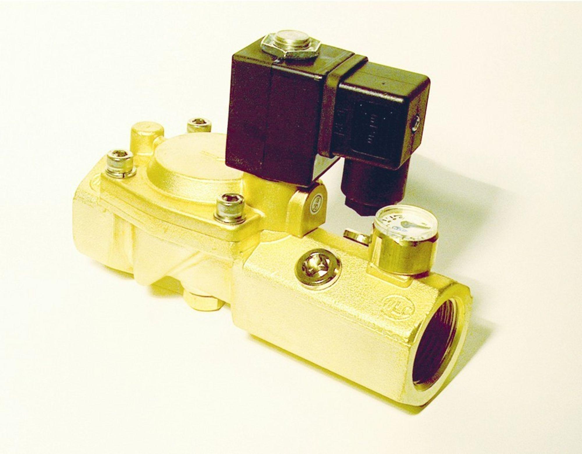 HINDRER LEKKASJE:Denne ventilen skal hindre vannlekkasjer i boliger.