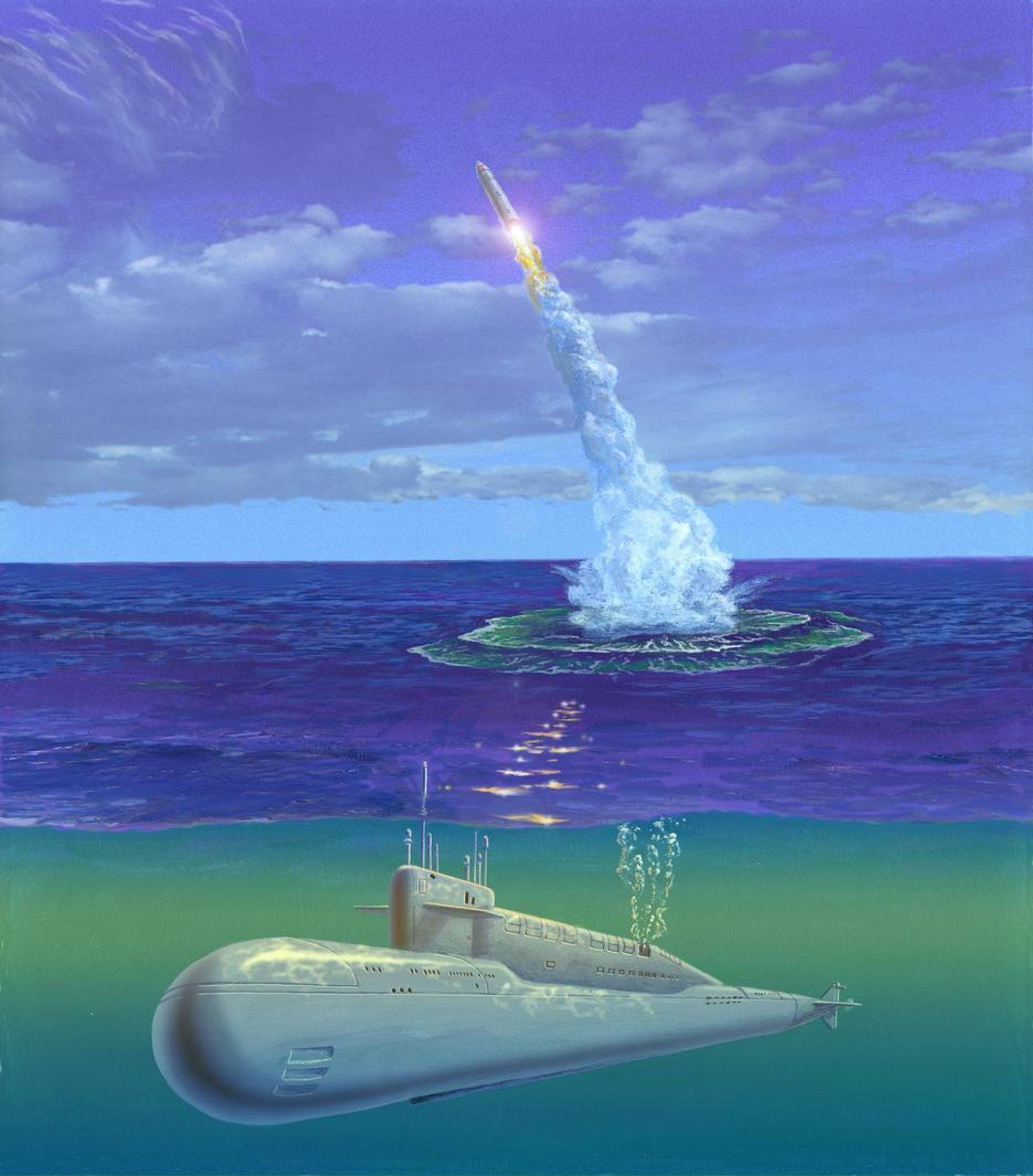 Antakelig har det oppstått en feil med Volna-raketten, som er et ombygget langdistansemissil.