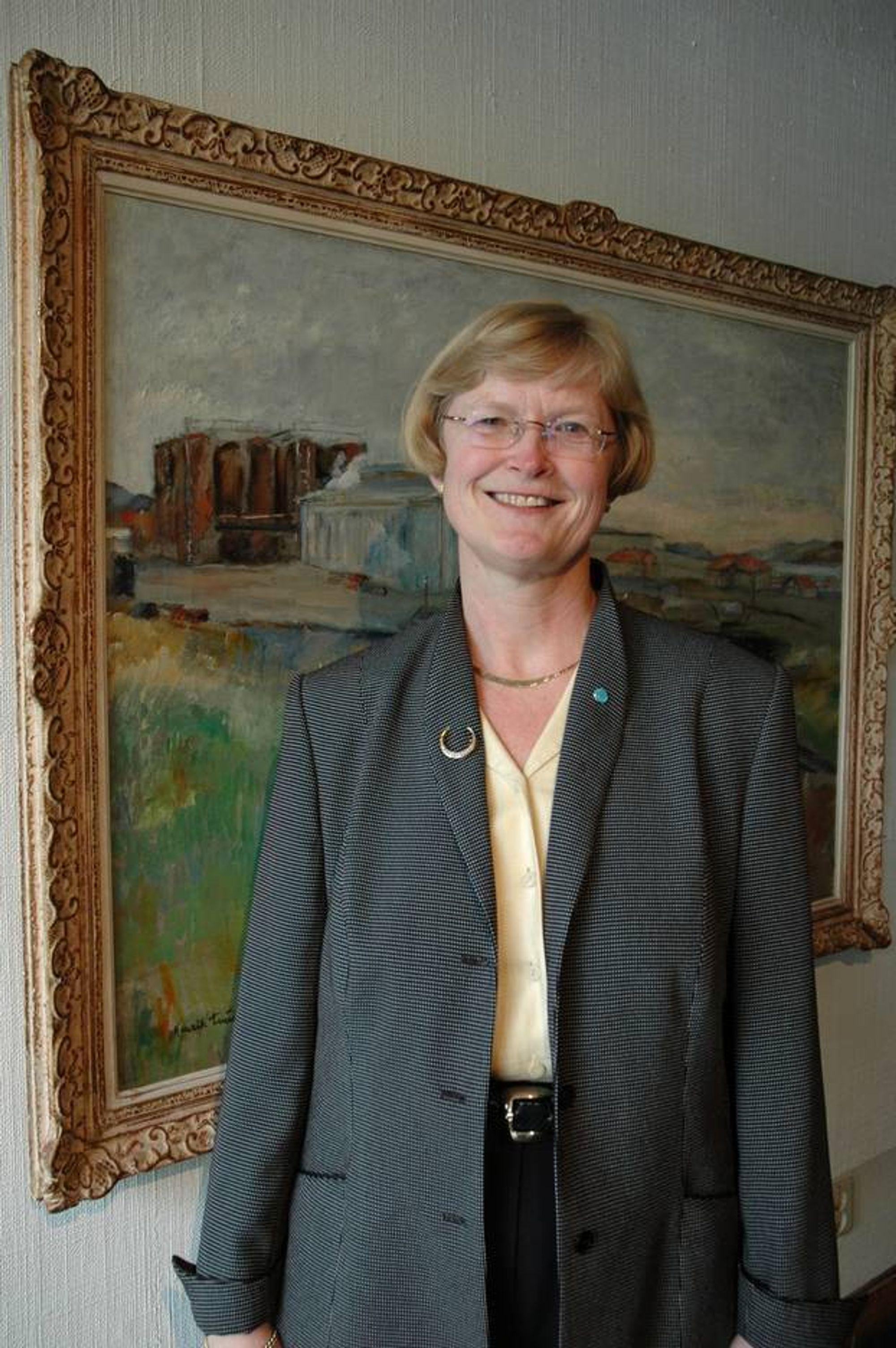 MER TEKNA ¿ MINDRE NITO: Teknas president Marianne Harg tror det offentlige ingeniørmarkedet vil utvikle seg til et marked for sivilingeniører. Hun frykter ikke sivilingeniører i jobber de er overkvalifisert for.