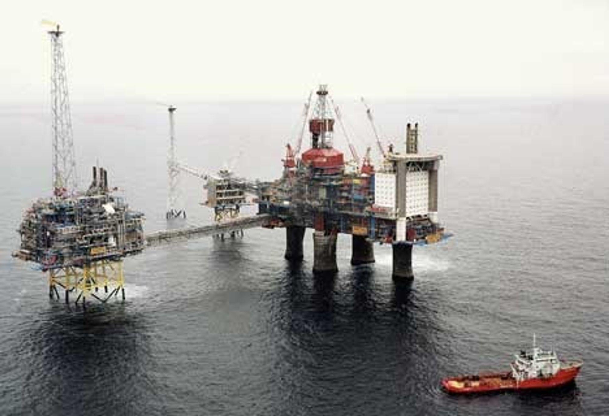 SELVSJEKK: De nye detektorene ¿ som ikke minst vil kunne komme til nytte på offshoreinstallasjoner som denne - har innebygget selvsjekk.