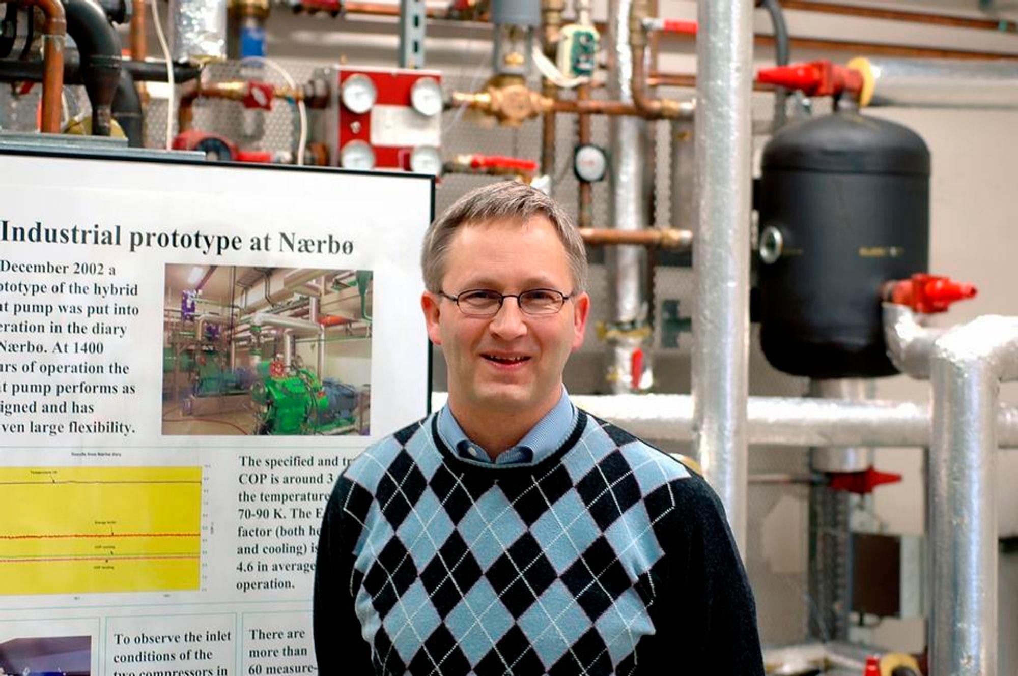 Bjarne Horntvedt, daglig leder i Hybrid Energy, vil satse internasjonalt.