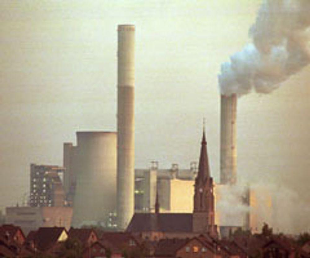 """Kullkraftverk i Tyskland kan bli erstattet av et """"norsk"""" gasskraftverk. Arkivfoto"""