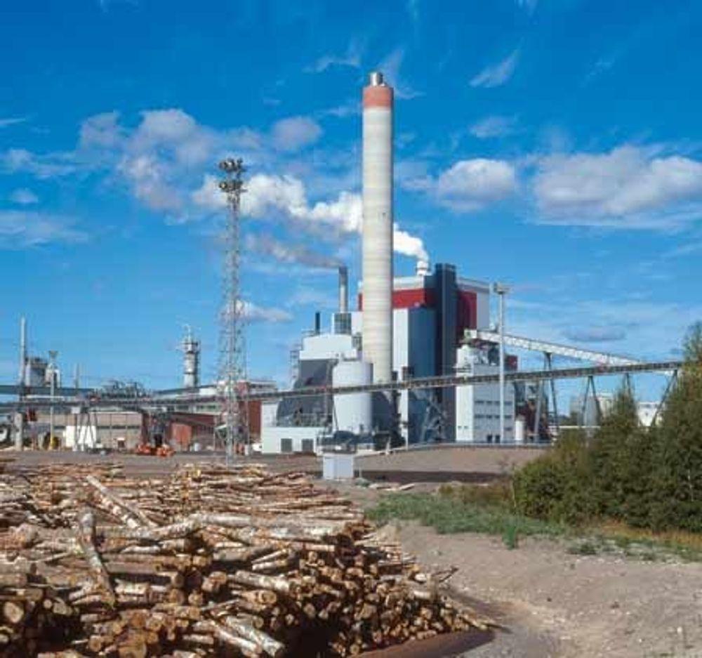SUKSESS: Kværner Power har stor suksess med sine miljøvennlige og effektive kjel- og energianlegg for celluloseindustrien. Foto: Kværner