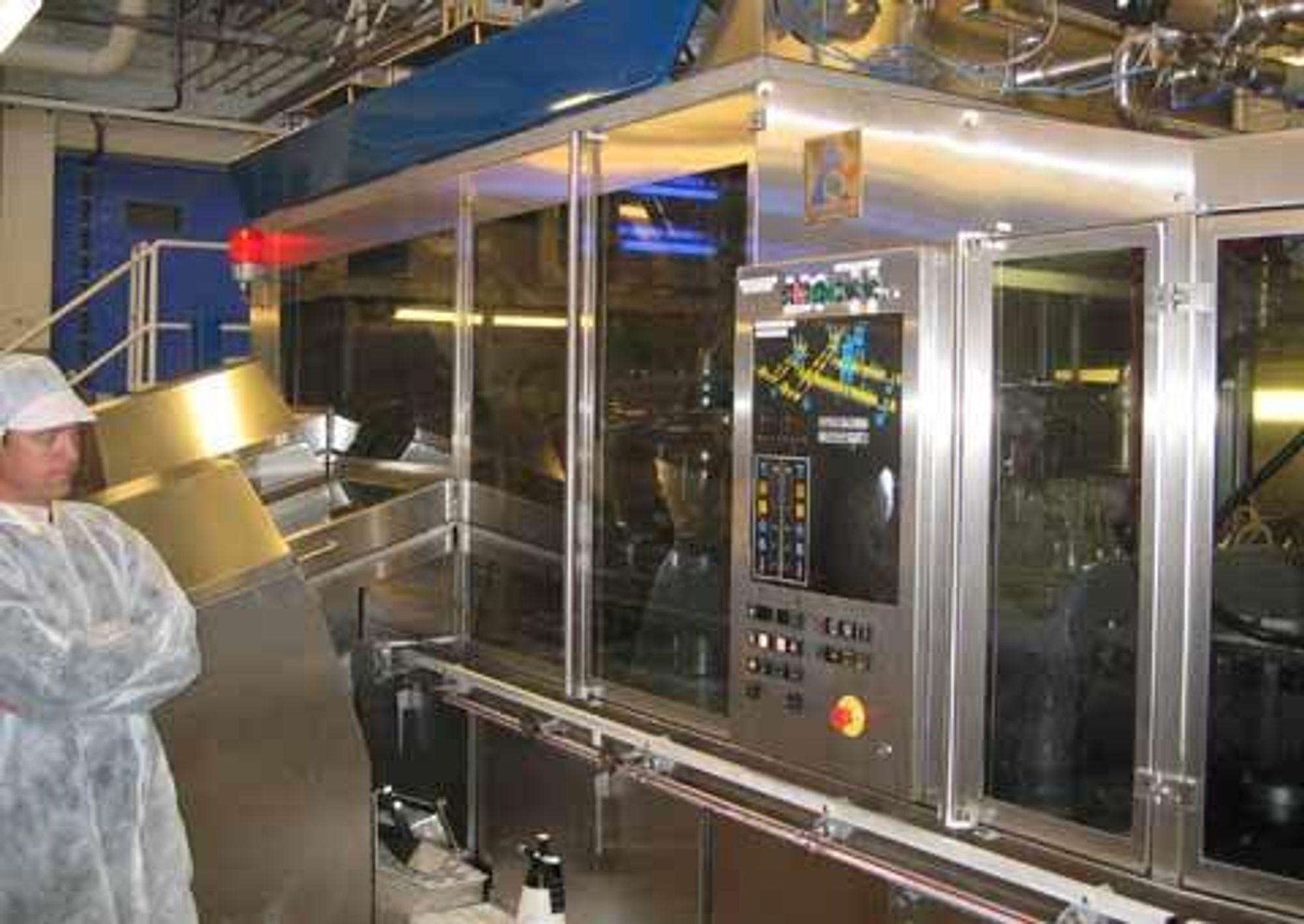 STØTTE Et system for datainnsamling og OEE-beregninger for produksjonslinjer i tapperiet på Tine Vest i Bergen er basert på RSBizWareprodukter fra Rockwell Automation.