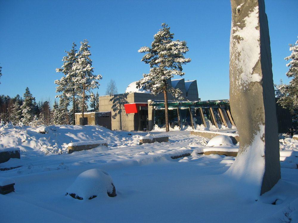 KUNSTUTSTILLING: Galleri Würth ligger ved Würths kontor i Gjelleråsen Næringspark.