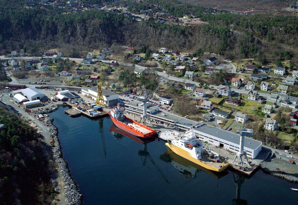 Aker Brattvaag og de 12 andre verftene i Aker Yards har solide ordrereserver. De norske verftene konsentrerer seg om spesialskip, blant annet for offshoreindustrien.