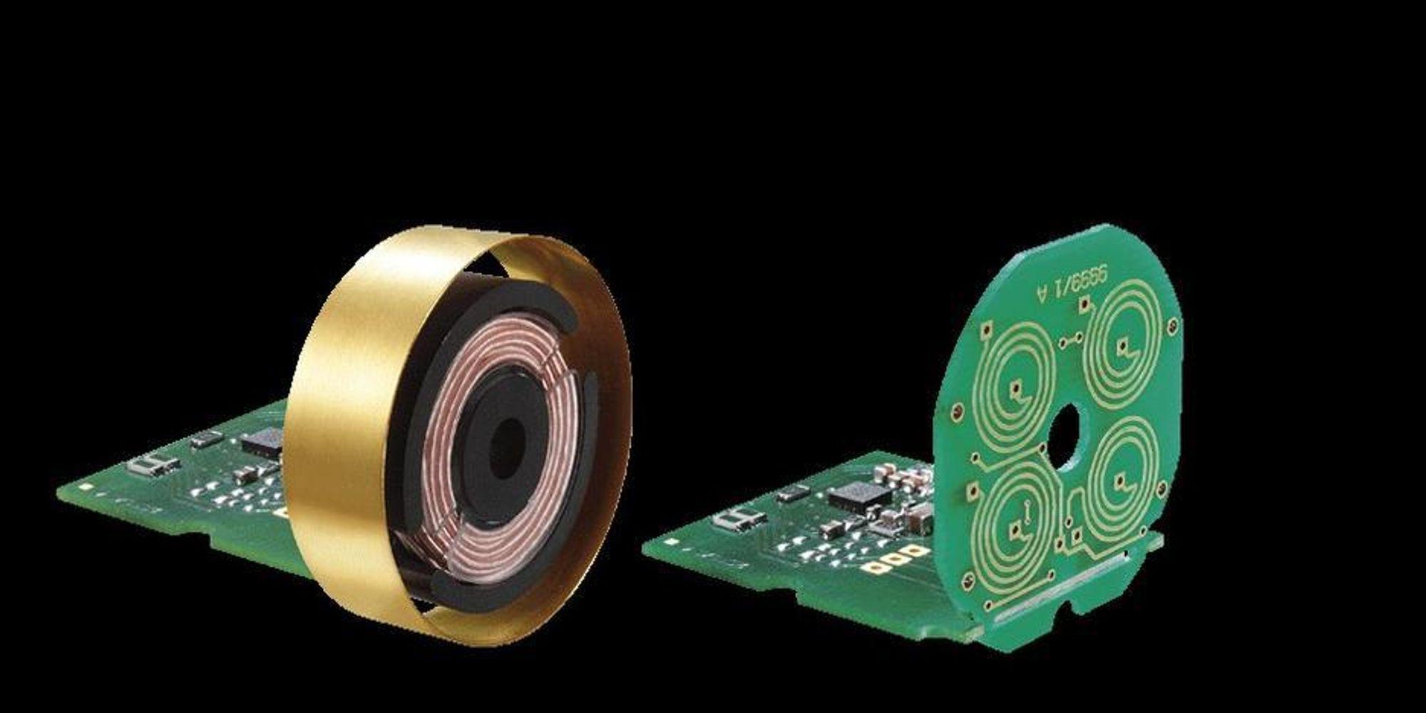 I KORTET: Fremtidens sensorer bygges med et multispolesystem integrert i kretskortet.