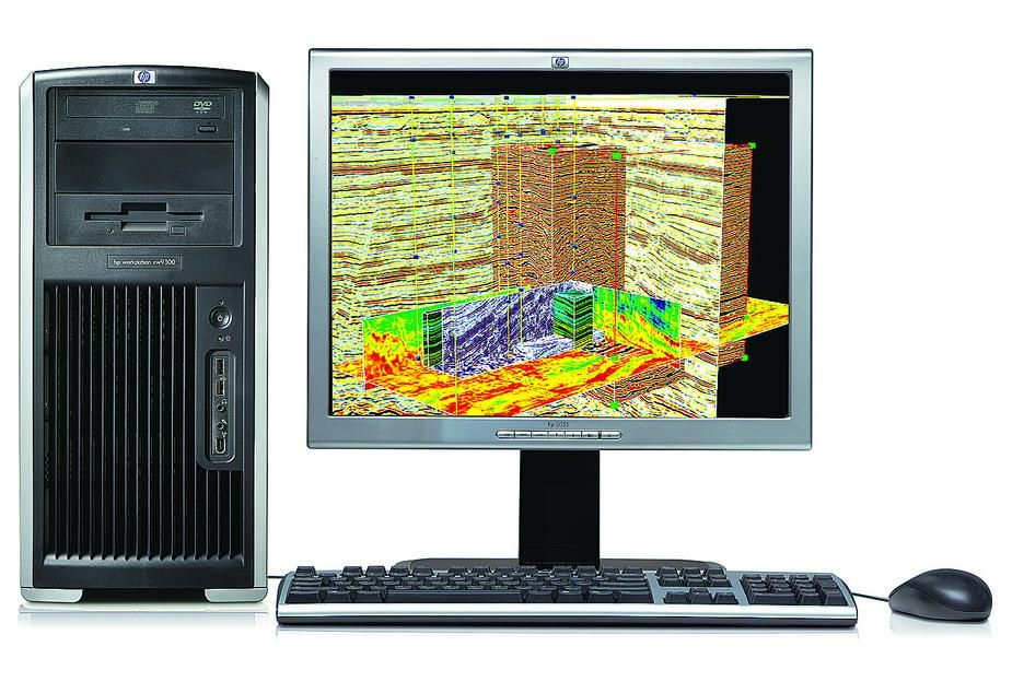 SER RESERVOARET:HPs nye kraftplugg kan manipulere store datasett i sanntid.