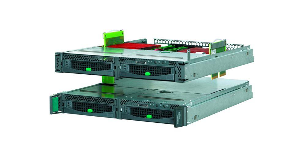 MANGE: Det har aldri vært enklere å bygge en server med mange prosessorer.