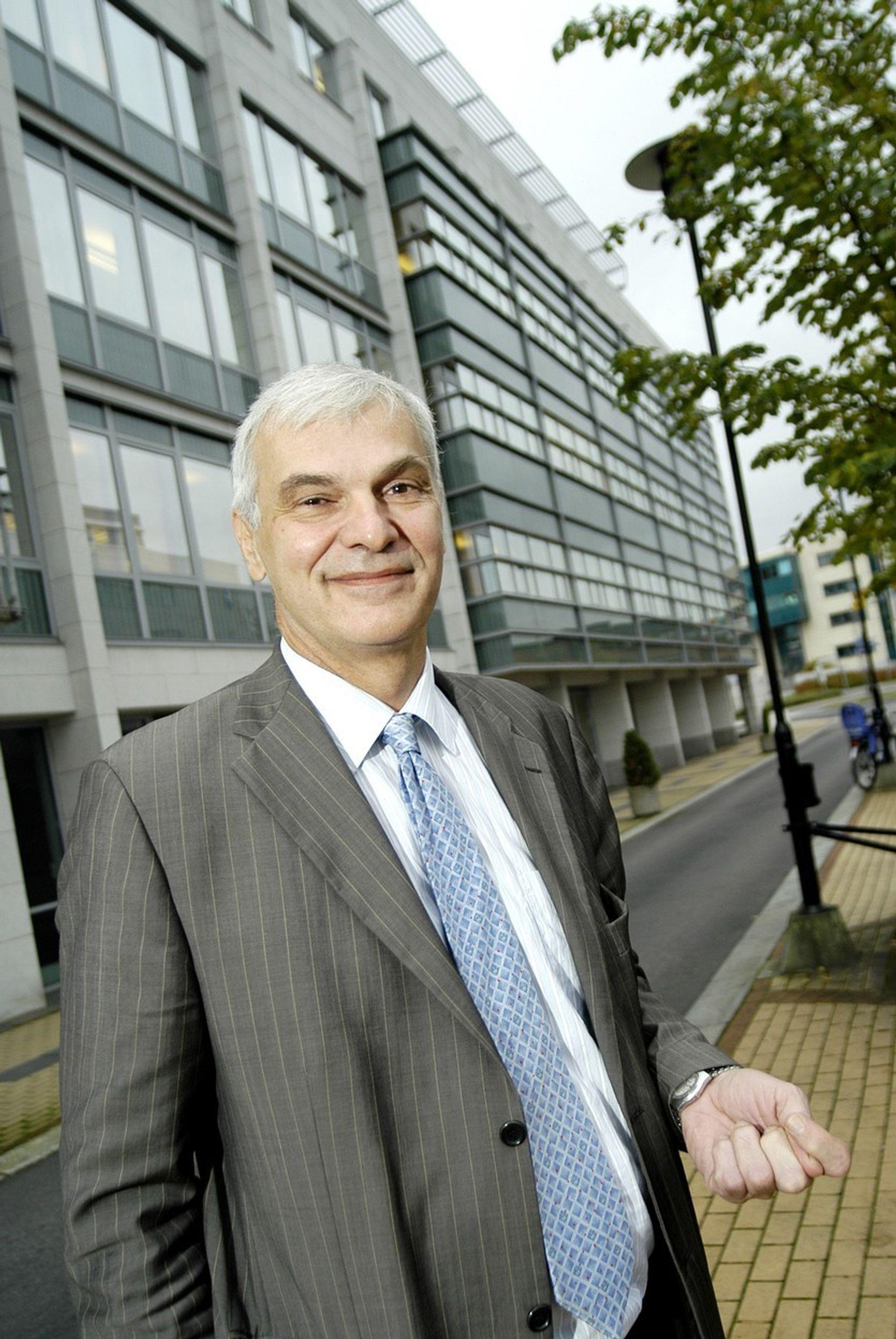 Administrerende direktør Einar Broch i Intentia er fornøyd med avtalen.