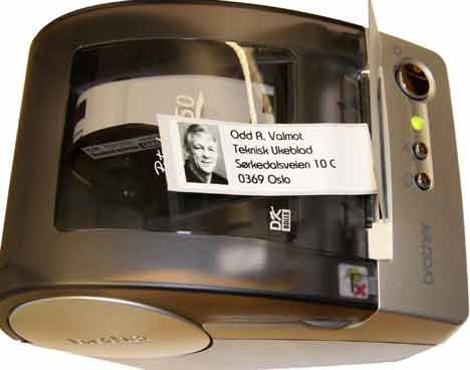 Brother har prestert en lekker liten etikettskriver, P-touch QL-550.