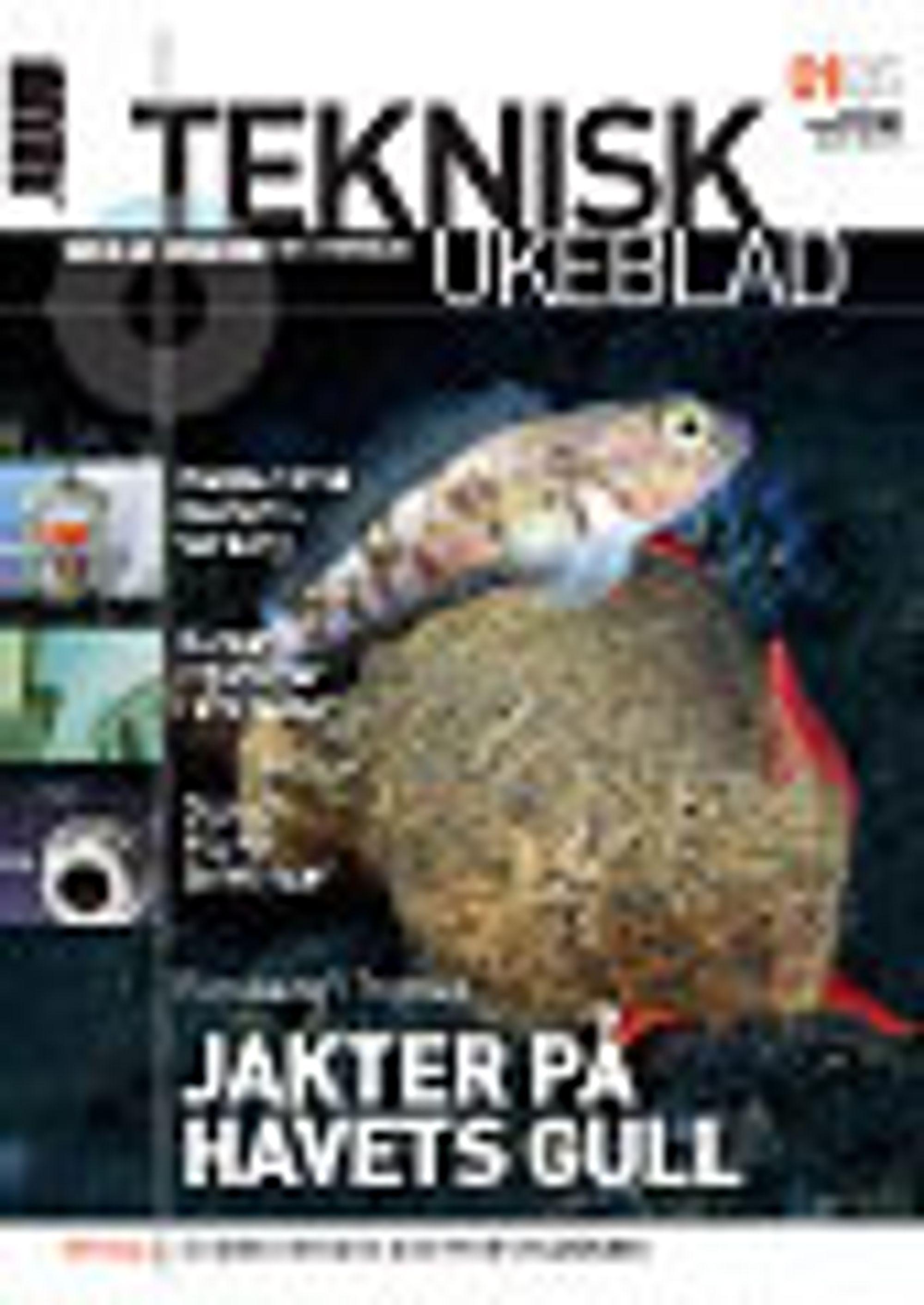 Forside Teknisk Ukeblad 0105
