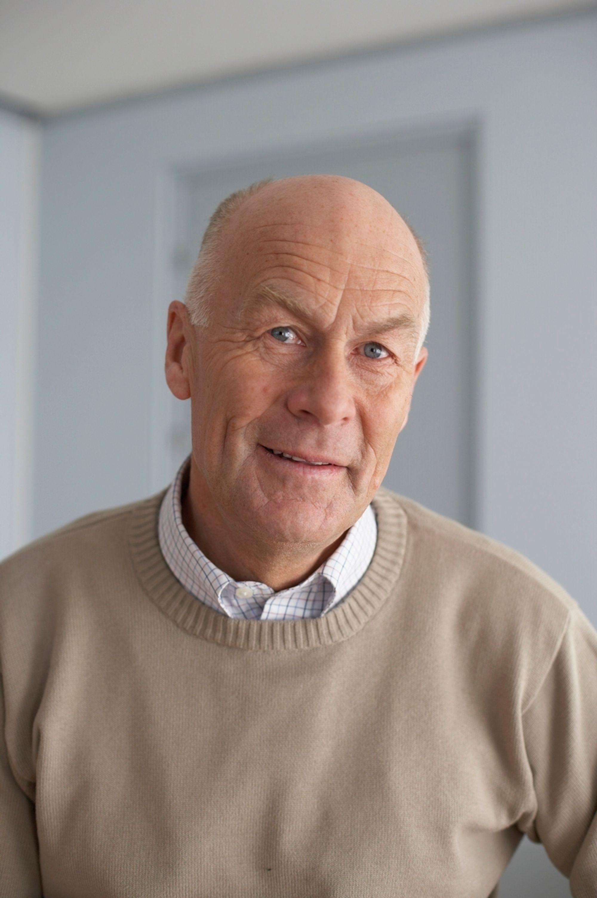 LANGSIKTIG: Seriøsitet i byggenæringen er et langsiktig prosjekt, sier Sverre Larssen, administrerende direktør i BNL.