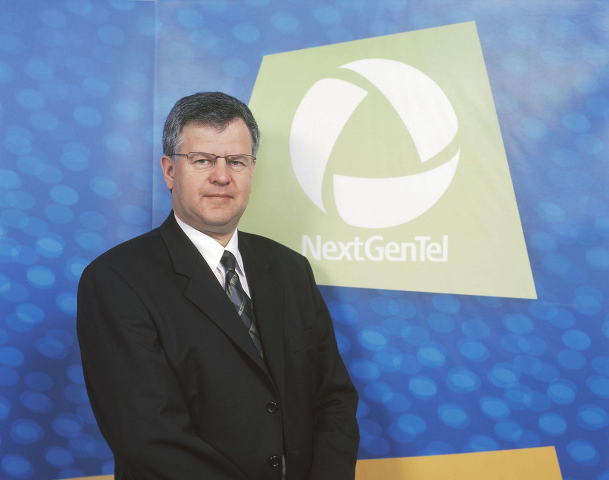 VOKSER: Vekst gjennom oppkjøp inngår som en strategisk del av NextGenTels forretningsutvikling, ifølge adm. direktør Olav Stokke.