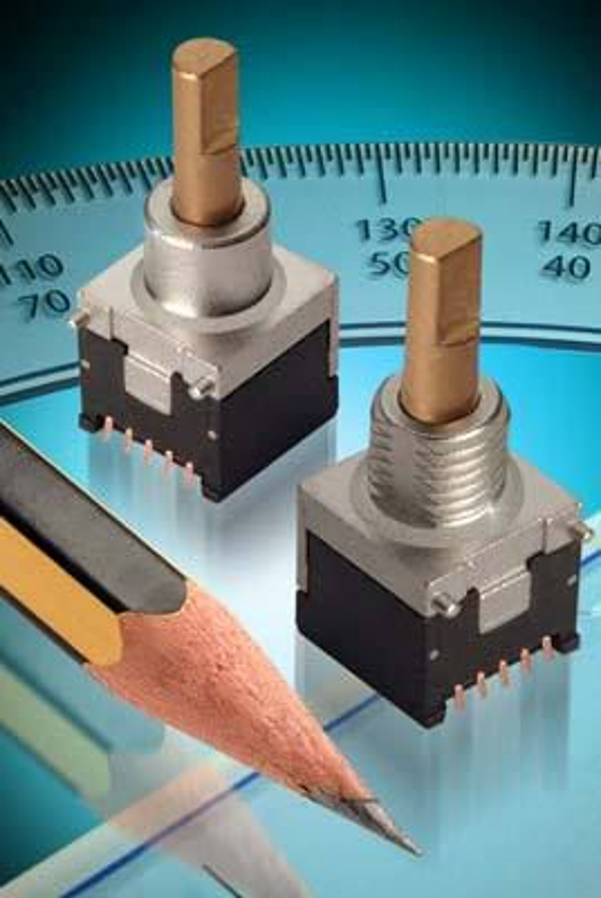MINIMINI: Elma Electronic har dyttet 45 års erfaring i utvikling og produksjon av vendere og enkodere inn i et ni ganger ni millimeter lite hus.