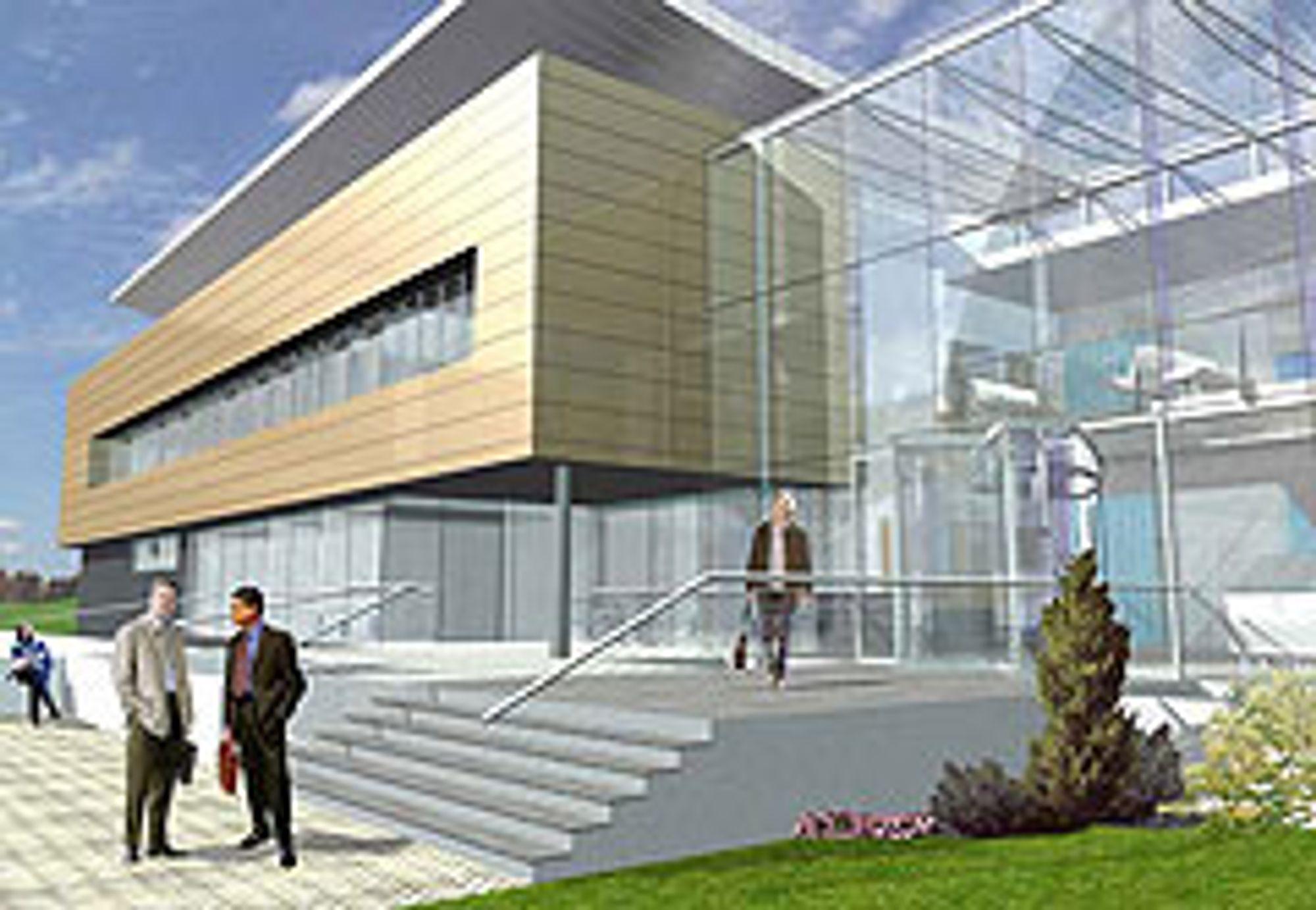 BIOMEDISIN: Neste år står det klart, det nye skotske biomedisinske sentret CRC i Dundee. Det innredes som en blanding av hotell og sykehus og skal konsentrere seg om forskning og eksperimentell behandling innen kreft, hjertelidelser, diabetes og nervesykdommer. FOTO LPS
