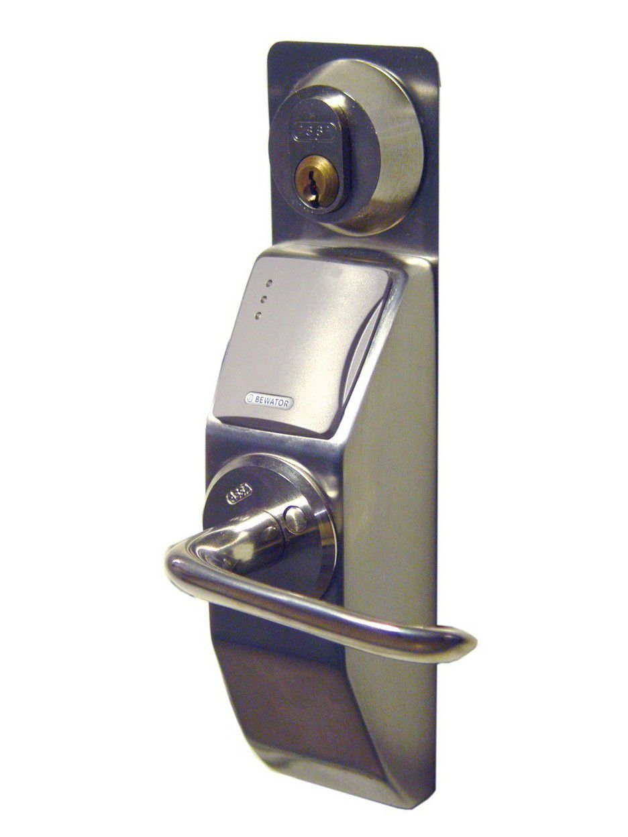 Systemleser med elektromekanisk lås