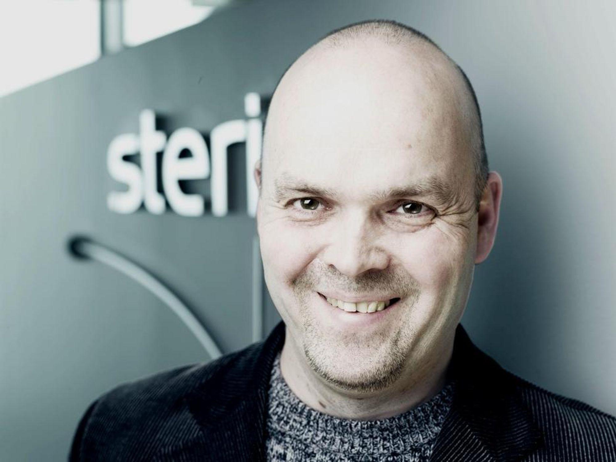 DÅRLIG KOMMUNIKASJON: Anders Lindgren i Steria mener det ofte er dårlig kommunikasjon mellom ledere og ansatte.FOTO: STERIA