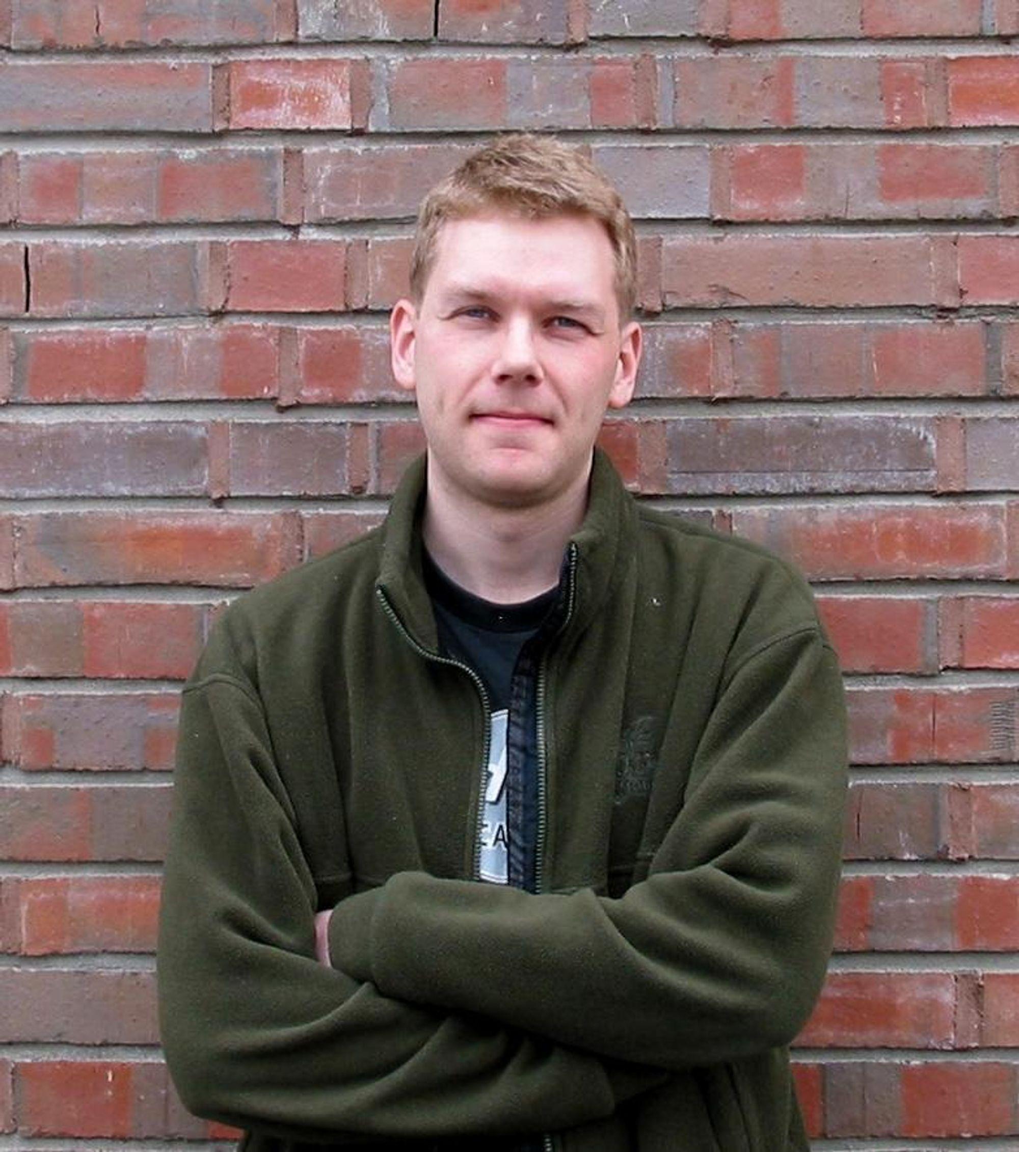 FISKESLO: Doktorgradsstipendiat Stein Ivar Aspmo hevder det ligger uante ressurser i fiskeslo som i dag kastes.
