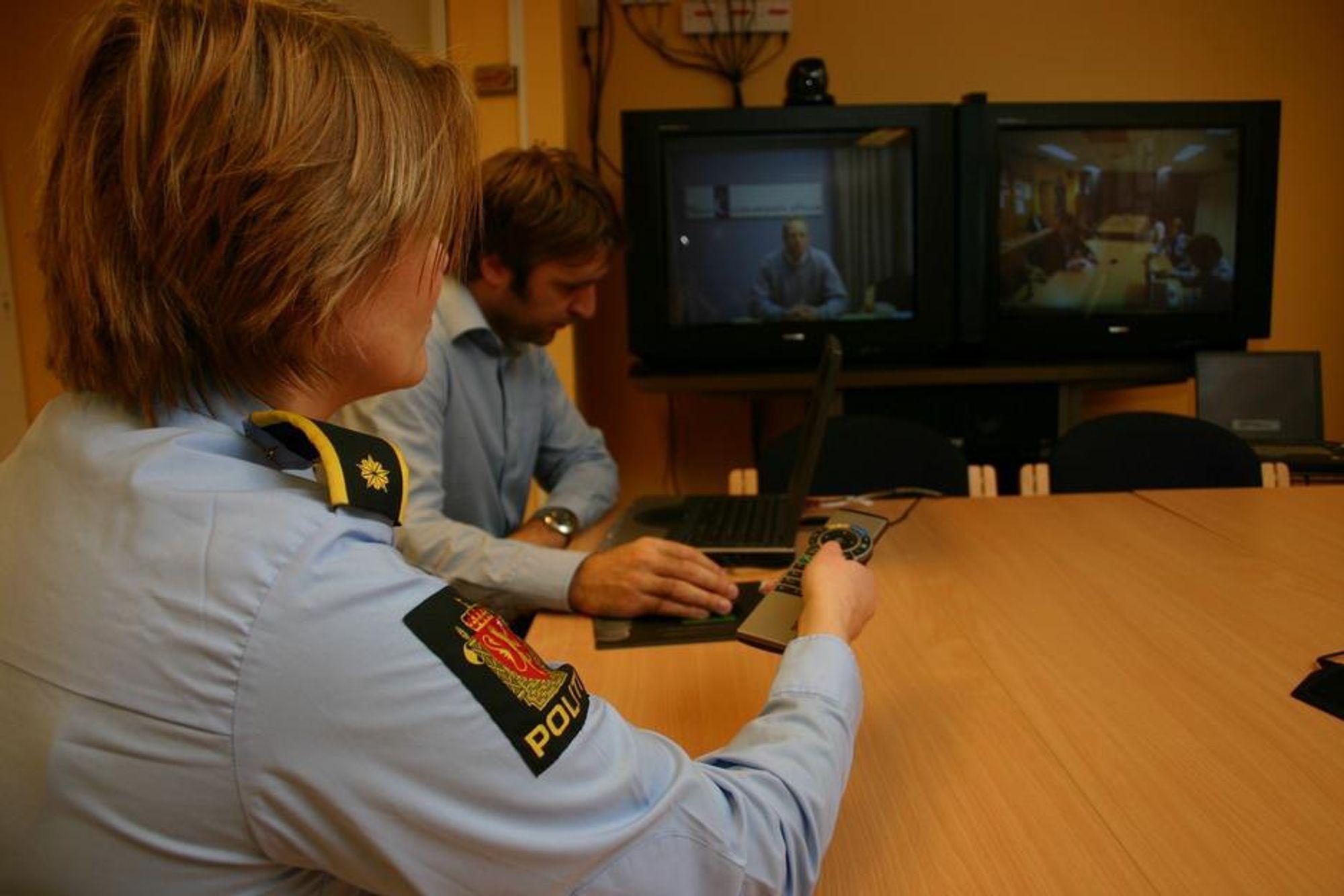 NSKER FLERE: Politiet i Oslo mener at de kunne ha spart betydelige summer hvis bruken av  videokonferanse ble mer utbredt.