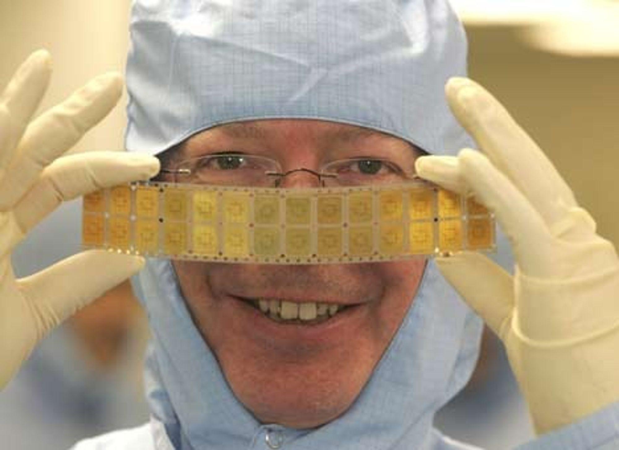SMARTERE: Atmel i Skottland utvider nå sin FoU- og produksjonskapasitet på halvledere og mikrobrikker i særlig tynne format.