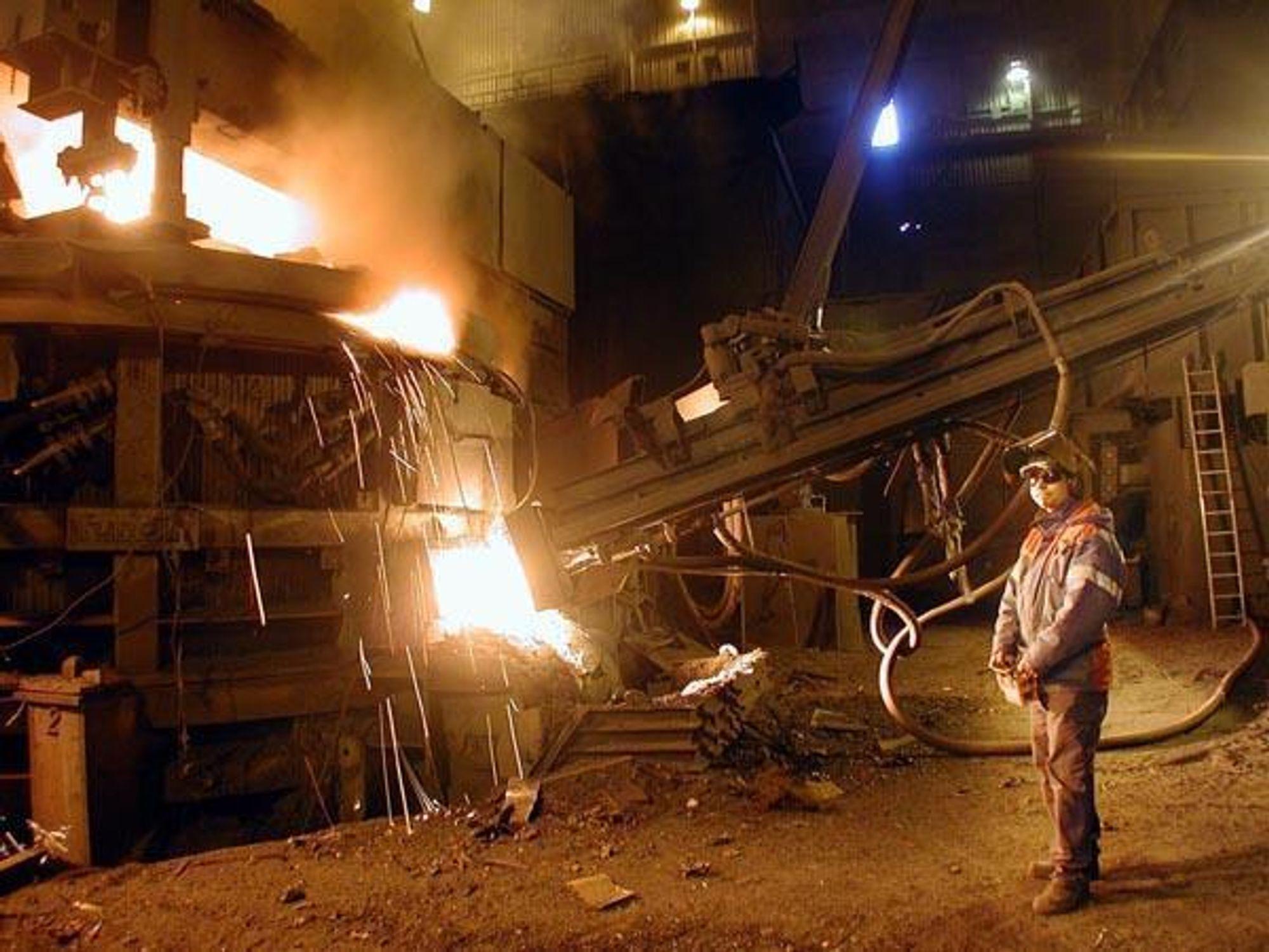 Mo Industripark. Rana metall. Fesil.