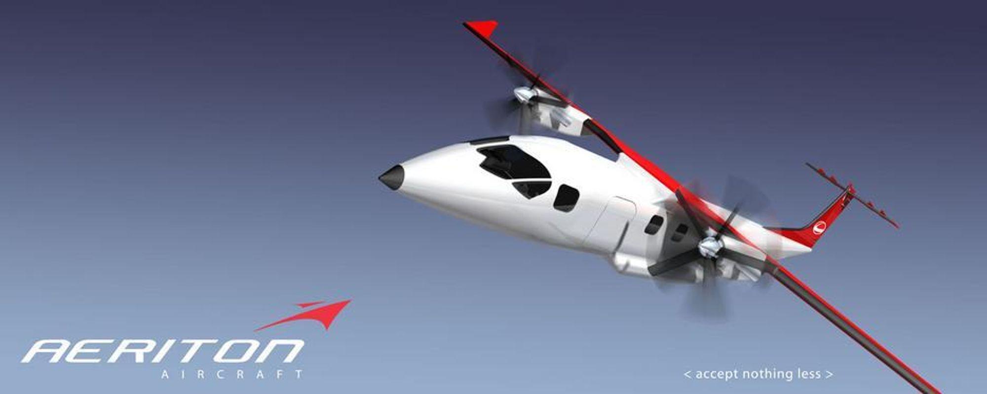NORSK: Aeriton Aircraft planlegger å bygge et norsk fly.