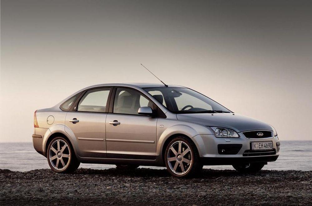 SIKKER: Nye Focus er ifølge EuroNCAP den første og hittil eneste bil som har vist 100 prosent beskyttelse for barn i bil. Poengsummen for nye Focus ble 35,46.