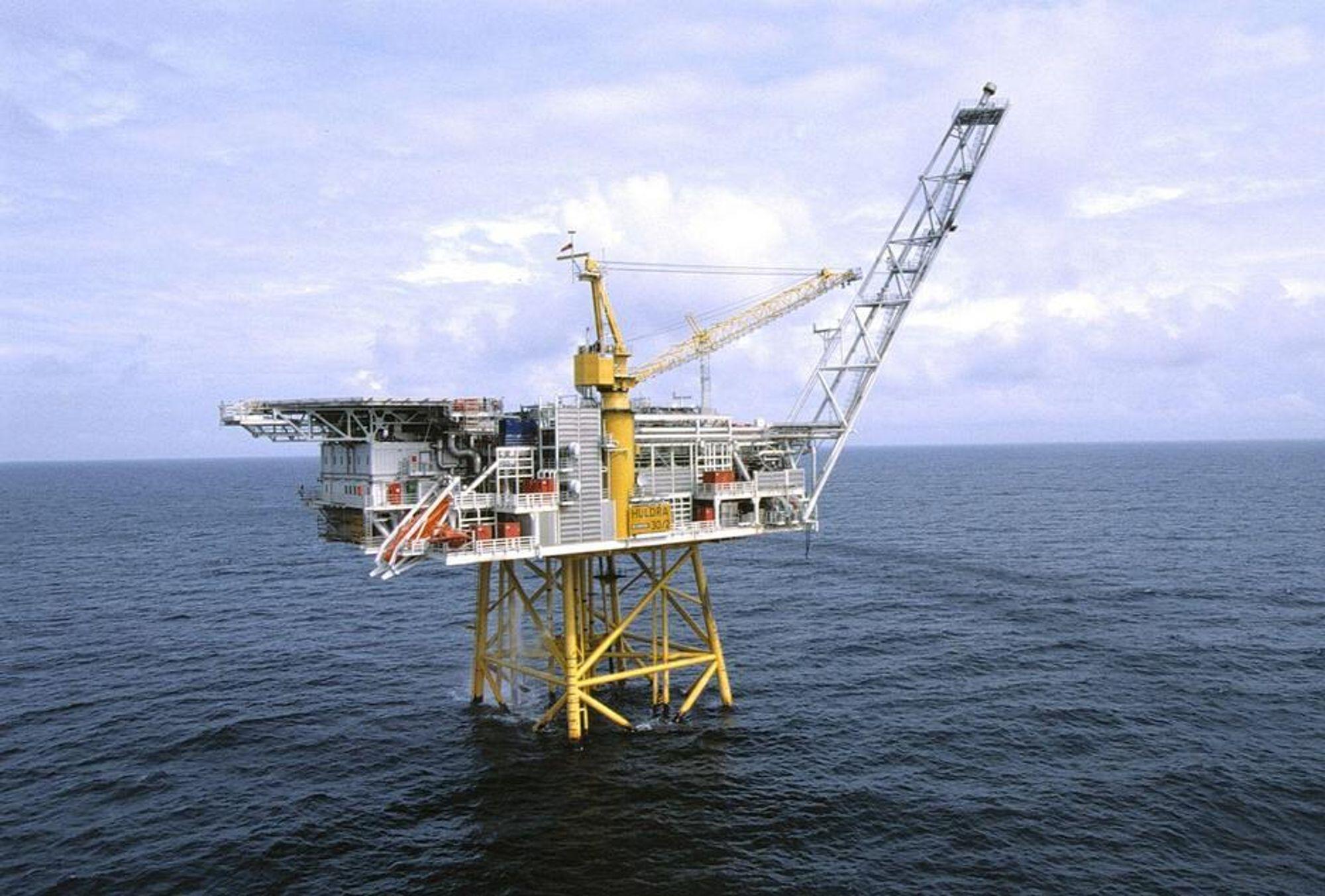 FEM NYE ÅR: Statoil fordobler levetiden på Huldra. FOTO: STATOIL