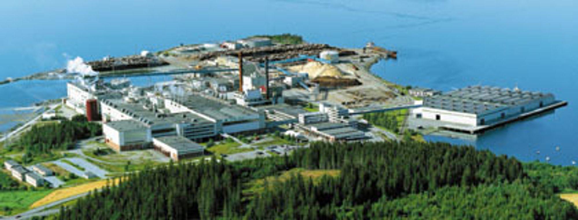 En ny rapport gjør trønderne mer optimistiske med tanke på å få et gasskraftverk tilknyttet Norske Skogs fabrikk på Fiborgtangen i Skogn i Nord-Trøndelag.