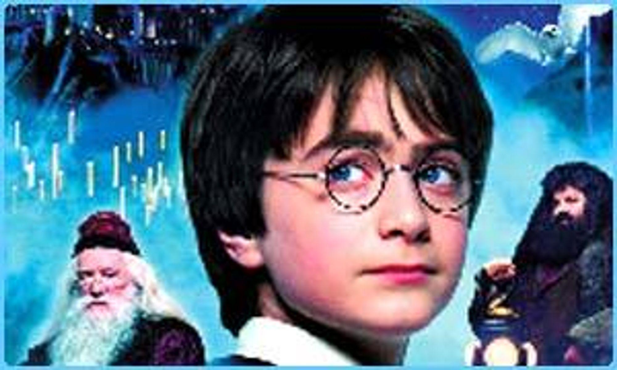VIDEO ON DEMAND: Harry Potter-filmene kan nå bestilles direkte til TV-en fra videoserveren til iVisjon. Filmen har samme kvalitet som en DVD-film.