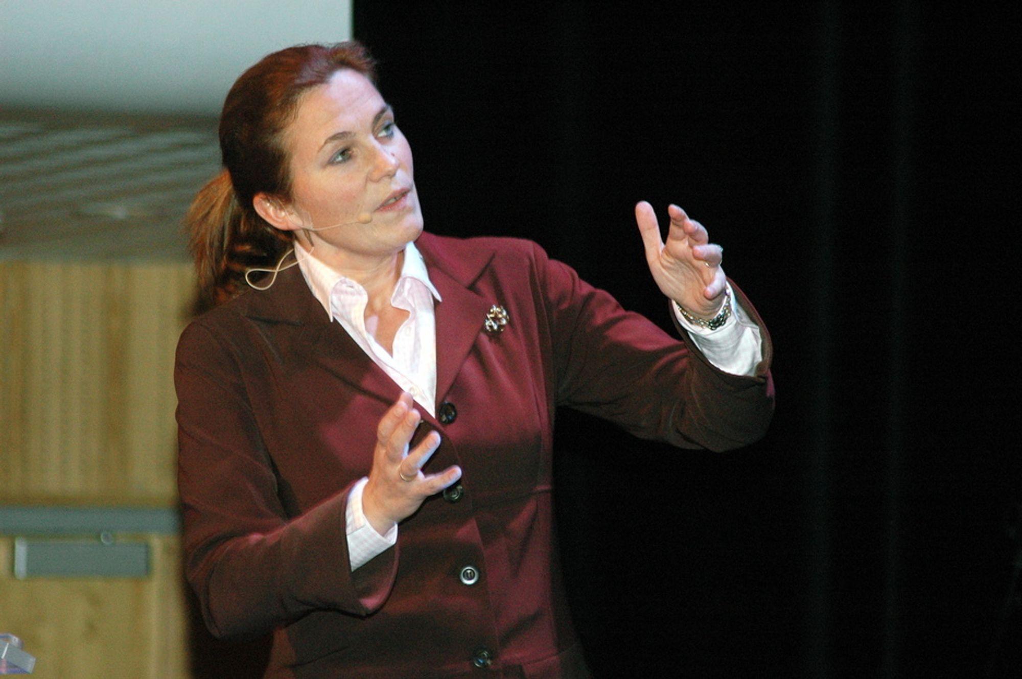 ALLTID ENGASJERT: Alexandra Bech Gjørv synes hun har fått en utfordrende oppgave med å lede området ny energi i Hydro. - Dette er spennende, sier hun