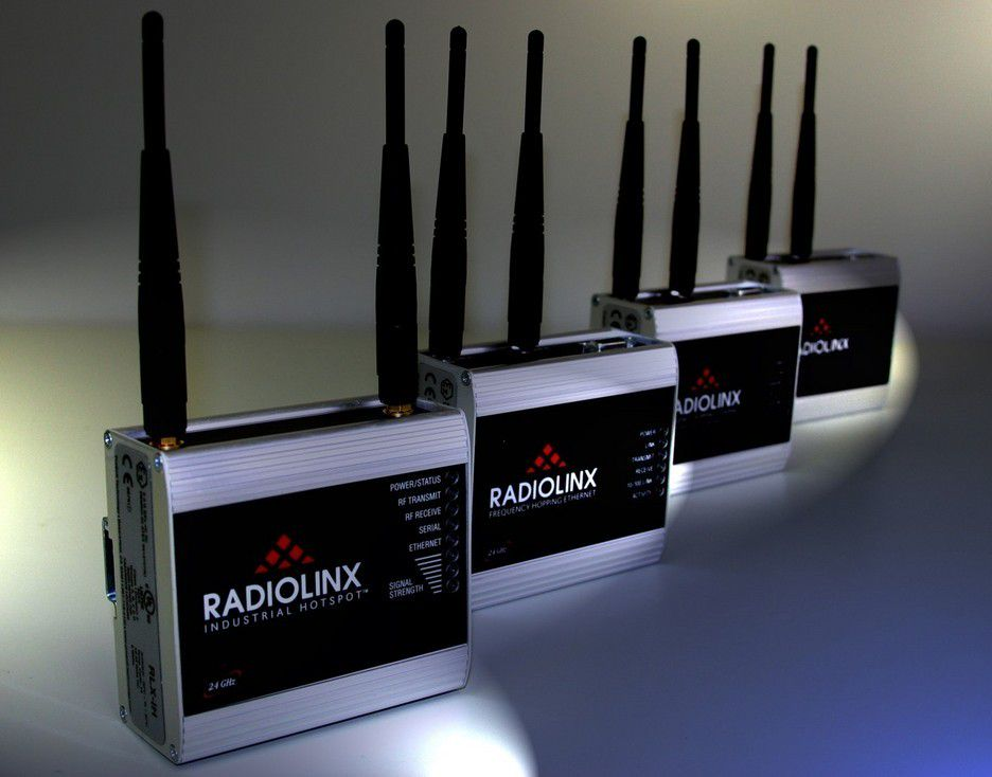 Radioer som tåler interferens