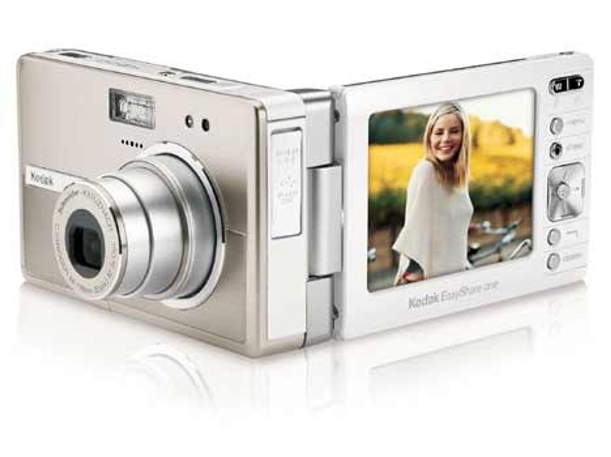 UTEN ENTRÅD: Kodaks nye Easyshare One kommuniserer trådløst, har 256 MB minne og kanlagre 1500 bilder. Det kan selvsagt også lagre video. FOTO: KODAK