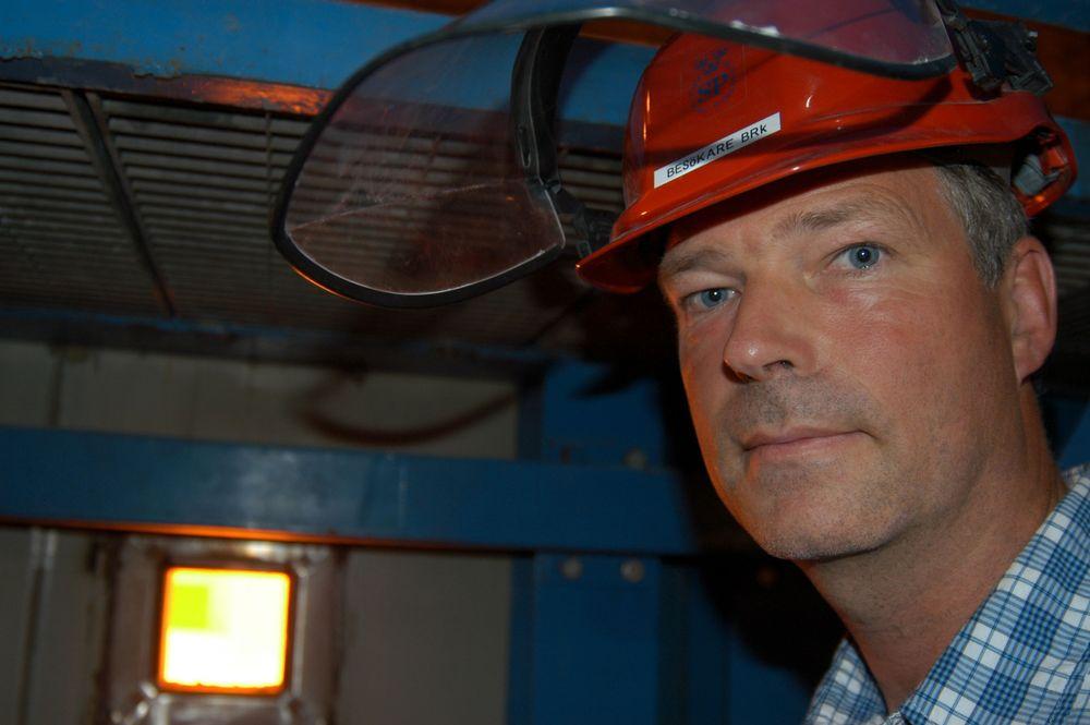 Betongen som ble brukt i testingen var iblandet plastfibrer. Representanter fra Svensk Provning var imponert over betongen og karakteriserte den som ekstremt god. Det er ennå ikke avgjort om denne betongen blir brukt i tunnelelementene.   - Det lar vi være opp til entreprenøren å velge, understreker prosjektleder Svein Røed.  FOTO: HILD THALE T.HOEN