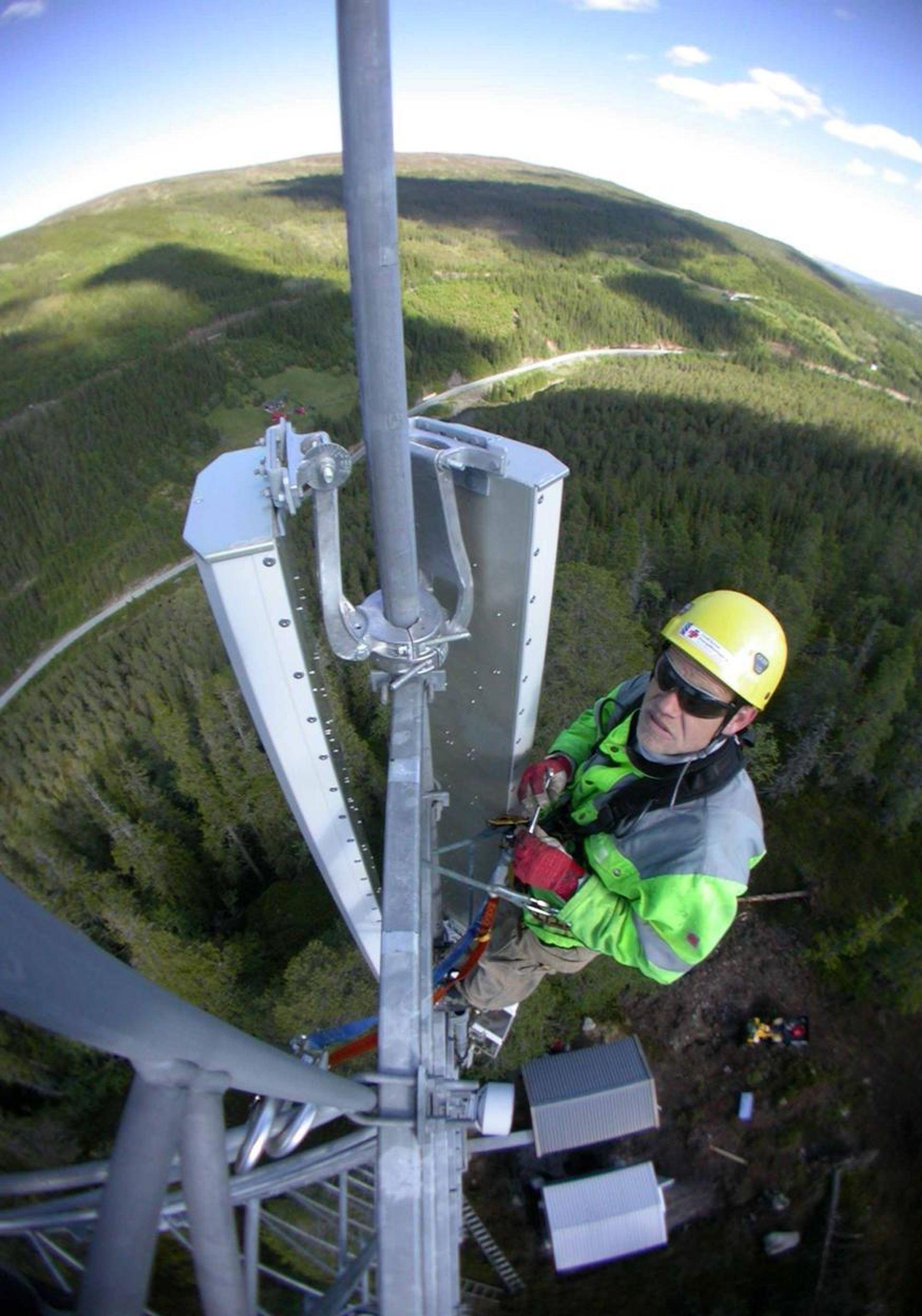 ERFARING: Netel har blant annet erfaring fra utbygging av GSM-R nettet.