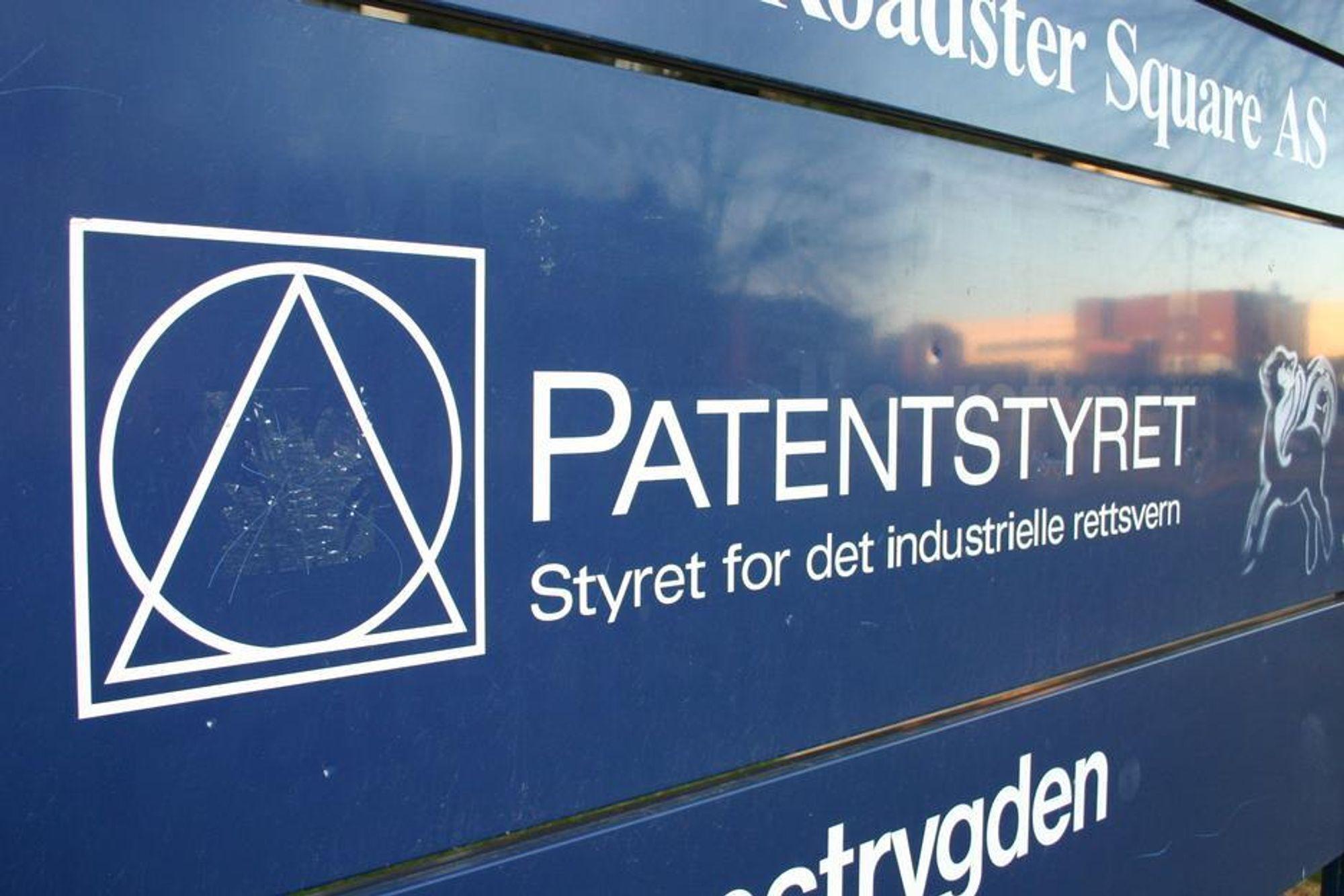 PATENTSTYRET HAR DATAPROBLEMER