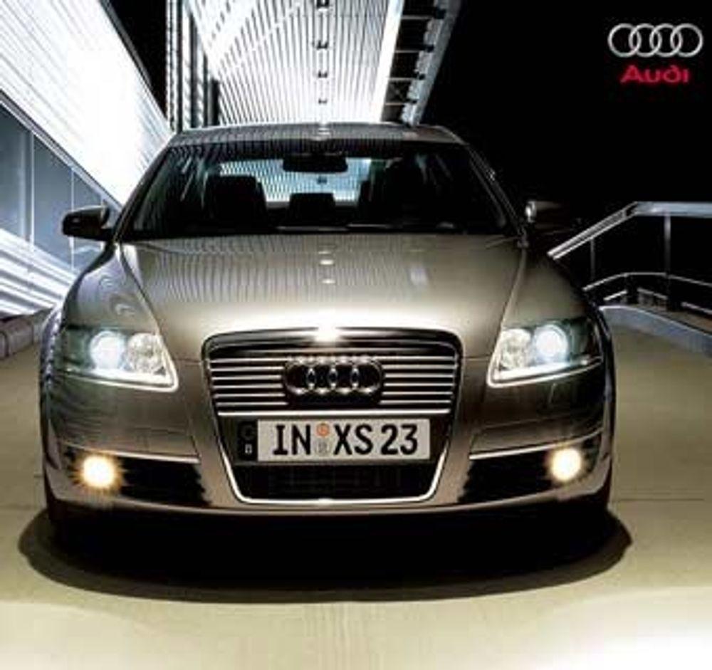 Audi A6 - nå også med spesialseter.