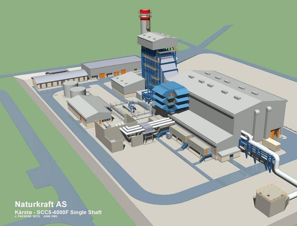 INDISKE INGENIØRER: På kraftverket som er under bygging på Kårstø har Siemens benyttet et indisk ingeniørfirma til deler av prosjekteringen.