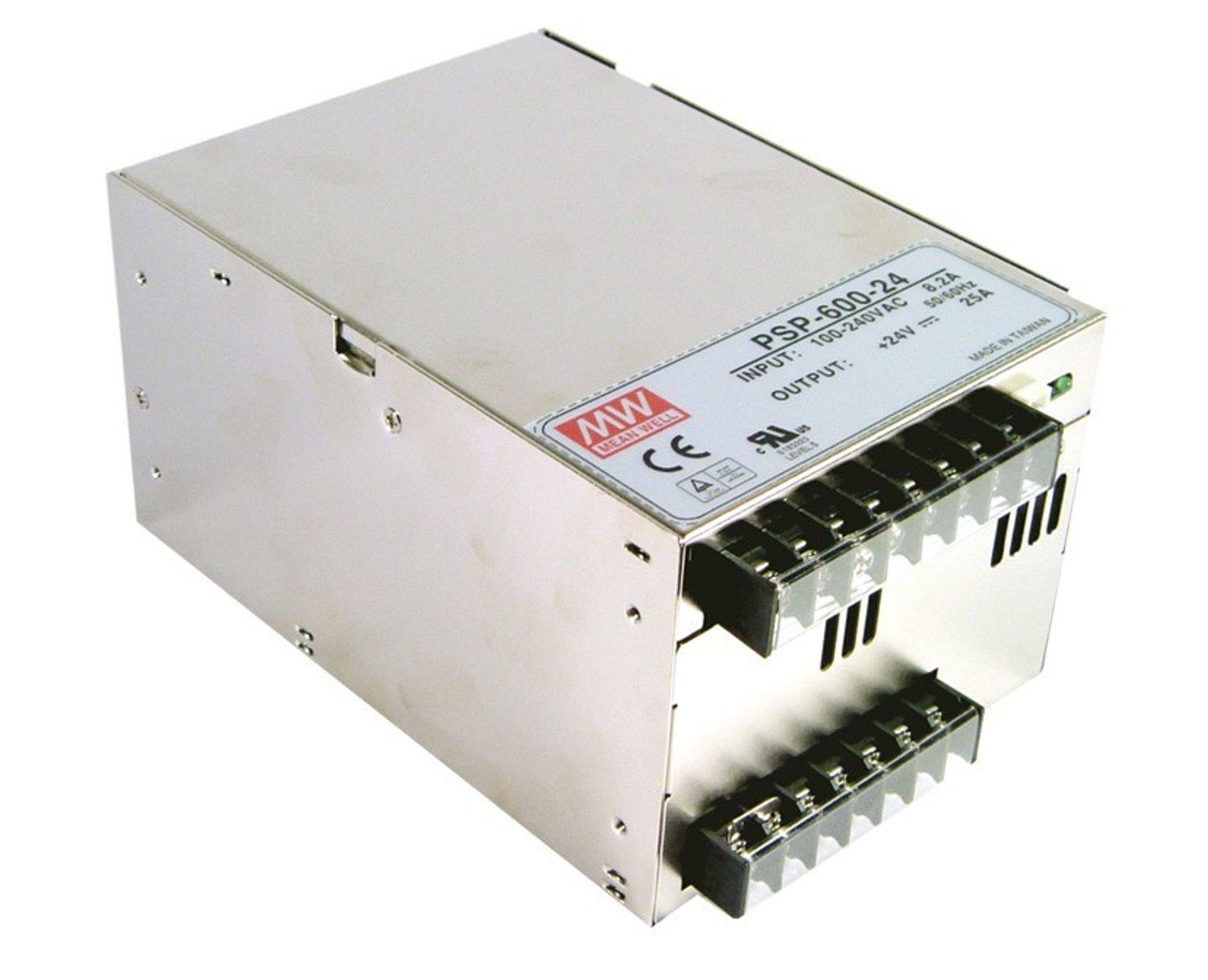 PARALLELL: SP-serien strømforsyninger fra Mean Well utvides. Nå introduseres PSP-serien som også kan parallellkobles.